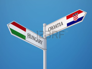 29053446-croatia-hungary-high-resolution-sign-flags-concept